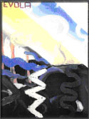 Evola, pintor futurista y dadaista.